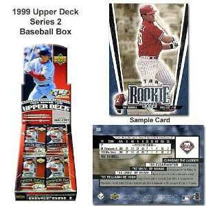 Deck Mlb 1999 Series Two Unopened Trading Card Box