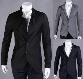Mens Casual & Dress Slim Fit Suit Blazer Jackets Coats