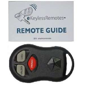 1998 2000 Chrysler Cirrus Keyless Entry Remote Fob + eKeylessRemotes