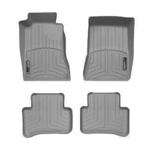 2000 2007 Mercedes Benz C Class Grey WeatherTech Floor Liner (Full Set