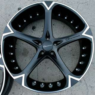 GIOVANNA DALAR 5V 20 BLACK RIMS WHEELS MUSTANG STAG