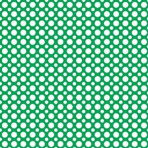 POLKA DOTS PATTERN #2 Green and White Vinyl Decal Sheets