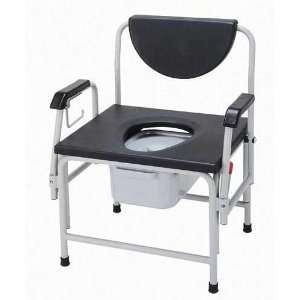 Bariatric Drop Arm Commode Heavy Duty Extra Large (Catalog