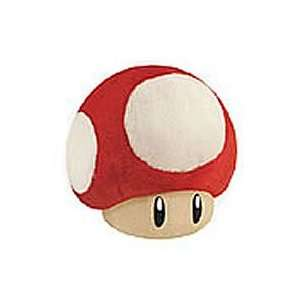 Official Nintendo Super Mario Plush Toy   6 Red Mushroom