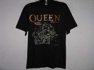 NEW QUEEN CLASSIC ROCK YOU MENS BAND T Shirt Size L