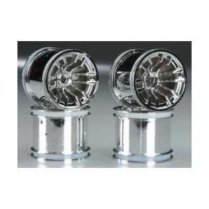 Duratrax Wheel Set Chrome Evader EXT2 (4) Toys & Games