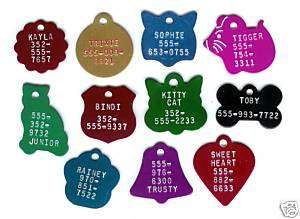 Small Cat Toy Dog Puppy Kitty Kitten Pup Pet ID Tag