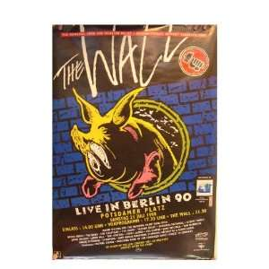 Pink Floyd Roger Waters Poster Berlin 1990 The Wall