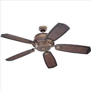 Monte Carlo Fan Company Ming Dynasty Ceiling Fan in Tuscan Bronze with