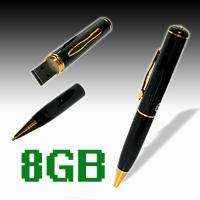 Mini 8GB USB Spy Pen Recorder DVR Video Hidden Camera 640*480