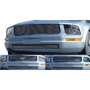 Bumper Billet Grille Insert   Horizontal, for the 2005 Ford Mustang