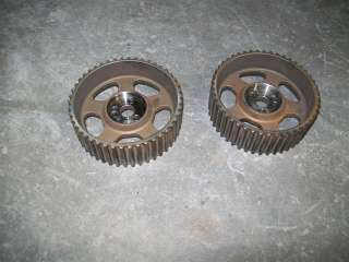 1994 94 Ford Taurus SHO 3.2L DOHC Camshaft Timing Pulleys / PAIR / 3.2