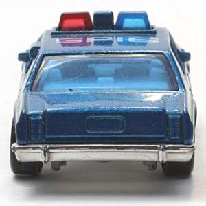 Matchbox Ford LTD State Police Car Scale 169