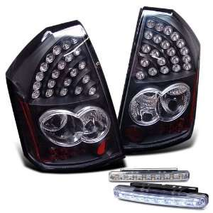 Eautolights 05 07 Chrysler 300 LED Tail Lights + LED Bumper Fog Set