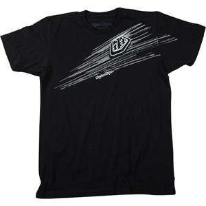 Troy Lee Designs Roost Slim Fit T Shirt   X Large/Black Automotive