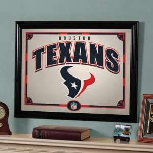 Officially Licensed NFL Football Houston Texans 22 in Printed Mirror