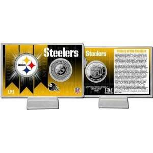 Pittsburgh Steelers Team History Coin Card Sports