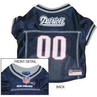 New England Patriots NFL Dog Jersey   M