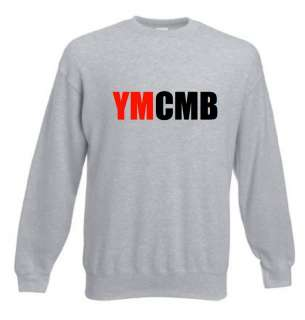 YMCMB Jumper Red Black Text All sizes Lil Wayne HIP HOP NEW