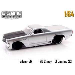 Jada Dub City Big Time Muscle Silver 1970 Chevy EL Camino