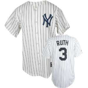 Babe Ruth Majestic Throwback Replica New York Yankees