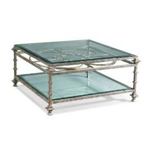 Square Iron Cocktail Table by Sherrill Occasional   CTH