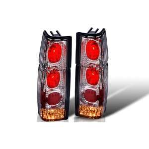 86 97 NISSAN HARDBODY ALTEZZA TAIL LIGHT   CHROME / SMOKE