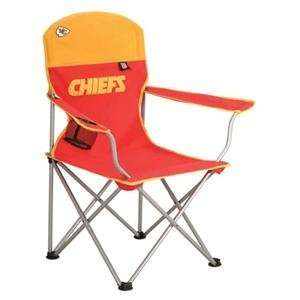 Northpole Kansas City Chiefs NFL Deluxe Folding Arm Chair