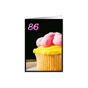 Happy 86th Birthday Muffin Card Toys & Games