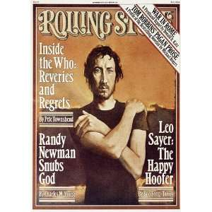 Pete Townshend, 1977 Rolling Stone Cover Poster by Daniel