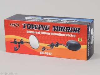 CLAMP ON TOWING BLIND SPOT TRAILER TOW MIRROR UNIVERSAL 2PC