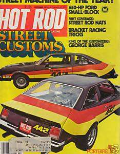 Hot Rod Magazine October 1978