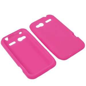 AM Soft Sleeve Gel Cover Skin Case for T Mobile HTC Radar  Magenta