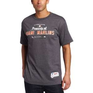 MLB Mens Miami Marlins MLB Property Of Tee Sports