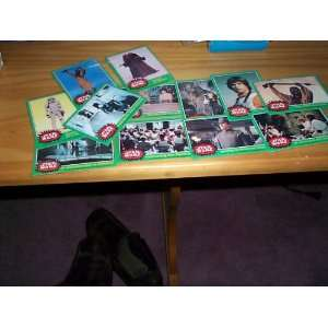 Han Solo, Stormtrooper, Jawas, 1977 topps lot of 32 Rare trading cards