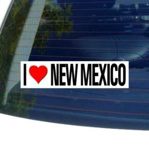 I Love Heart NEW MEXICO   Window Bumper Sticker