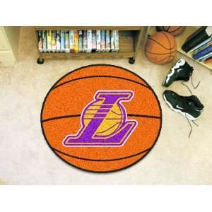 Los Angeles Lakers Basketball Rug