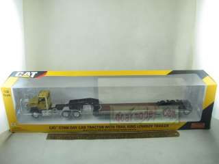 Caterpillar CT660 DAY CAB TRACTOR LOWBOY Trailer Diecast 55503