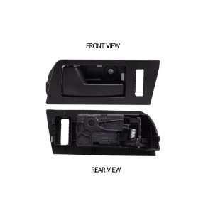 Ford Focus Black Inside Front Driver Side Replacement Door
