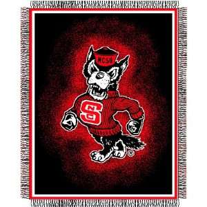 North Carolina State University Wolfpack Throw   Triple
