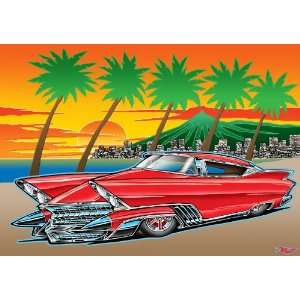 Mercury Monterey Deluxe Coupe ~ Wooden Jigsaw Puzzle Toys & Games