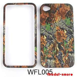 Cover Case For Apple Iphone 4 & 4 S Hunter Camo Mossy Oak