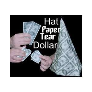 Hat Paper Tear   Dollar   Kid Show Magic Trick Toys & Games