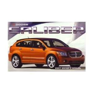 2007 DODGE CALIBER Owners Manual User Guide Everything