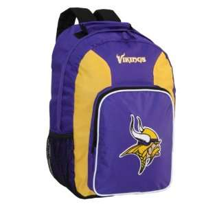 NFL Minnesota Vikings Southpaw Team Color Backpack Sports