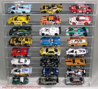 32 Slot Car Display Case fits fly 24 SS