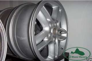 LAND ROVER 18 HURRICANE WHEEL RIMS DISCOVERY RANGE
