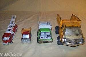 OF VINTAGE METAL WORK TRUCKS MARX BUDDY L TONKA TOOTSIE TOY OLD