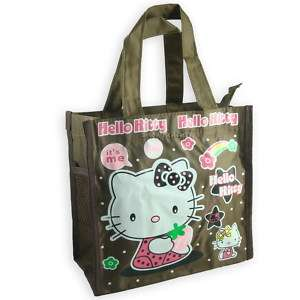 Hello Kitty Tote Handbag Lunch box Bag sac PINK HB ME