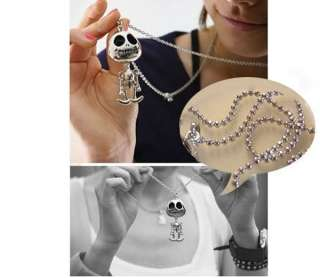 Simitter new fashion Big eyes UFO alien kid necklace long sweater
